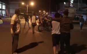 Dor, Tembakan Gas Air Mata Meletus Jelang Sahur di Gorontalo