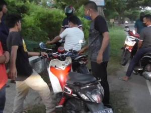 Polisi Bubarkan Balap Liar di Polman, Motor Dikembalikan Usai Lebaran