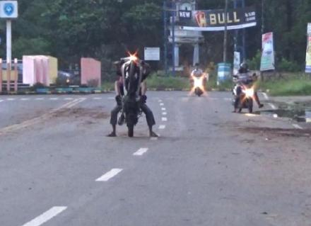 Pelaku Balap Liar di Makassar Akan Disanksi