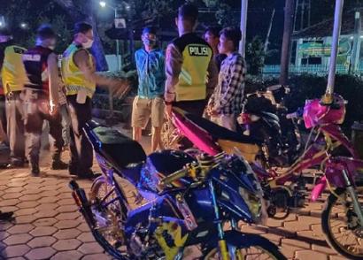 Puluhan Remaja Diamankan Nekat Balap Liar Saat Pandemi Corona