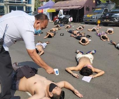 Terciduk Balapan Liar, 62 Remaja di Malang Di-Rapid Test